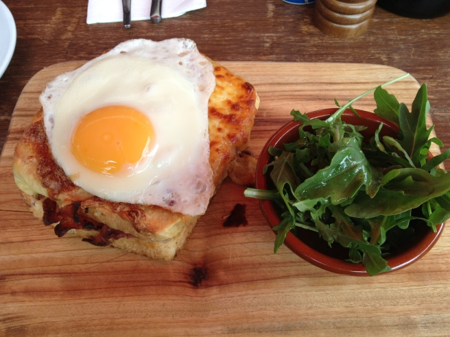 Croque Madame - The Old Barber Shop, Richmond