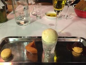 Dessert sampler platter (February 2014 Tasting Menu), Istanbul Culinary Institute, Istanbul, Turkey