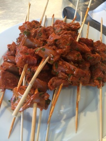 Moorish lamb skewers - Spice Bazaar, Seddon