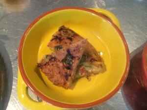 Zucchini tortilla - Spice Bazaar, Seddon