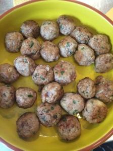 Spanish meatballs with traditional almond sauce - Spice Bazaar, Seddon