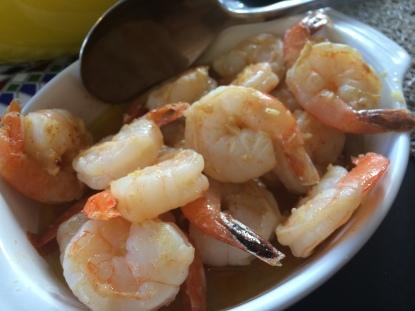 Jerez style Garlic Prawns - Spice Bazaar, Seddon