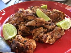 Grilled chicken with harissa, lime and garlic - Spice Bazaar, Seddon