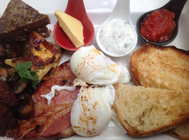 Cafe Fez Big Breakfast - Cafe Fez @ Red Ramia, Myrtleford