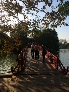 The Huc Bridge, Hanoi, Vietnam