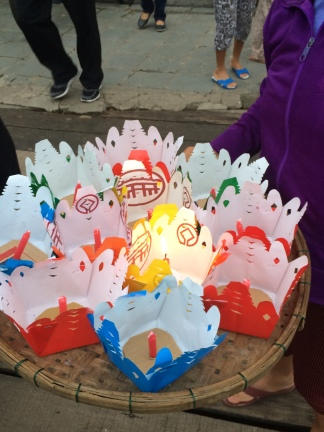 Floating lanterns, Hoi An - Vietnam Culinary Discovery