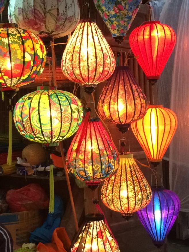 Silk lanterns, Hoi An - Vietnam Culinary Discovery