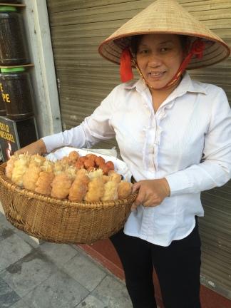 Street vendors, Hanoi, Vietnam