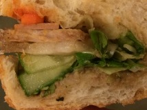 Food tasting tour - Bahn Mi, Ms Vy's Market Restaurant and Cooking School, Hoi An - Vietnam Culinary Discovery