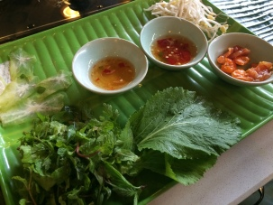 Banh xeo - Cooking class, Ms Vy's Market Restaurant and Cooking School, Hoi An - Vietnam Culinary Discovery