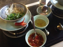 Mango and prawn salad - Cooking class, Ms Vy's Market Restaurant and Cooking School, Hoi An - Vietnam Culinary Discovery