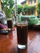 Vietnamese Iced Coffee, Cargo Club, Hoi An - Vietnam Culinary Discovery