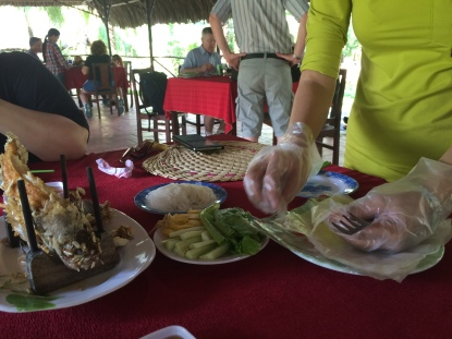 Village lunch, Mekong Delta cruise - Vietnam Culinary Discovery