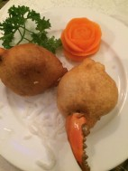 Deep Fried Claws wrapped in Minced Pork & Crab, Lemongrass Restaurant, HCMC - Vietnam Culinary Discovery