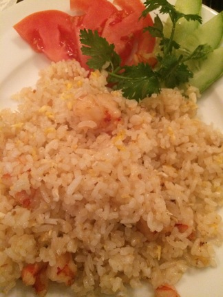 Shrimp Fried Rice, Lemongrass Restaurant, HCMC - Vietnam Culinary Discovery
