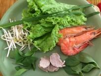 Pork and prawn rice paper rolls, Saigon Cooking Class, HCMC - Vietnam Culinary Discovery