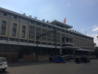 Reunification Palace, HCMC - Vietnam Culinary Discovery