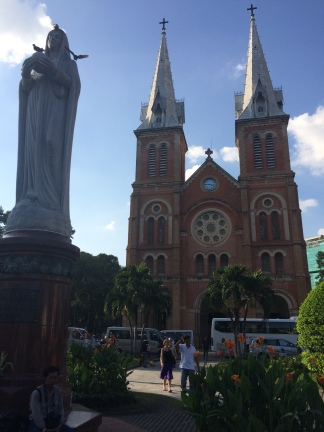 Notre Dame Cathedral, HCMC - Vietnam Culinary Discovery