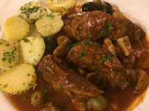 Veal shoulder cooked tomatoes, white wine, olives and spices - La Fourchette, HCMC - Vietnam Culinary Discovery
