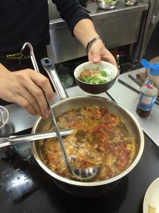Crab Noodle Soup, Hanoi Cooking Centre, Hanoi, Vietnam