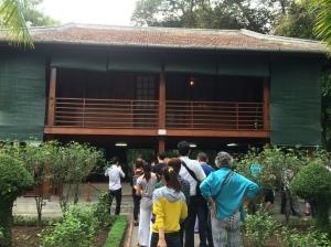 Ho Chi Minh's Stilt House, Hanoi, Vietnam