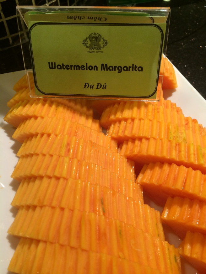 "Lost in translation ... Papaya is also known as ""Watermelon Margarita"" in Vietnam"