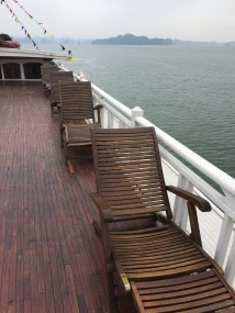 Overnight cruise on a junk - Halong Bay, Vietnam