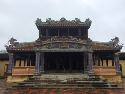 Royal Library - Imperial City, Hue - Vietnam Culinary Discovery