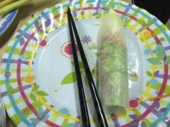 Nem lui, Hong Mai Restaurant, Hue - Vietnam Culinary Discovery