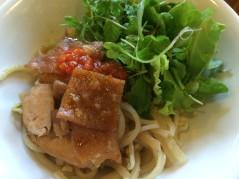 Cao Lau (Mi Cao Lau), Miss Ly Cafe, Hoi An - Vietnam Culinary Discovery