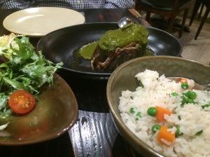 Pierna De Cordero – Slow Cooked Lamb Leg with Seco Sauce and Peruvian Rice - Pastuso, Melbourne