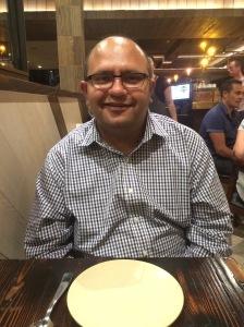 Naseer K at Pastuso, Melbourne