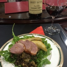 Smoked Duck with Lentil and Pear Salad - Duck and Pinot Masterclass - Luv-a-Duck, Port Melbourne