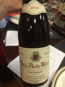 "2010 Domaine Jean-Marc Millot ""Aux Faulques"" 2010, Bourgogne - Duck and Pinot Masterclass - Luv-a-Duck, Port Melbourne"