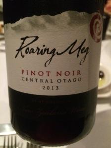 2013 Roaring Meg Mt Difficulty Pinot Noir, Central Otago - The Grand, Richmond