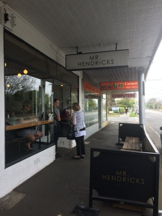 Mr Hendricks Cafe, Balwyn