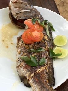 Vietnamese style fish - Jetwing Beach Cooking Experience - Negombo, Sri Lanka
