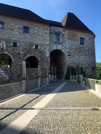 Ljubljana Castle - Real Food Adventure Slovenia and Croatia