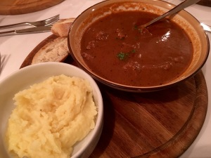 Traditional goulash - Real Food Adventure Slovenia and Croatia