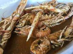 """Rovinj """"lunch"""" at a local seafood restaurant - Real Food Adventure Slovenia and Croatia"""