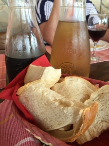 Pag Island lunch - Real Food Adventure Slovenia and Croatia