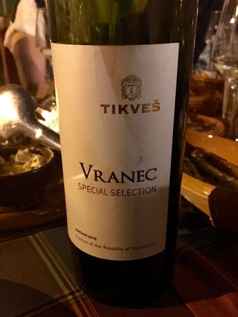 Macedonian red wine - Real Food Adventure Macedonia and Montenegro