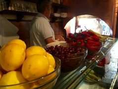Kebap shop in the Old Bazaar - Real Food Adventure Macedonia and Montenegro