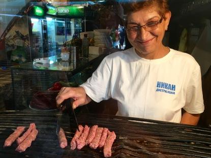 Kebap shop in the Old Bazaar - Real Food Adventure Macedonia and Montenegro