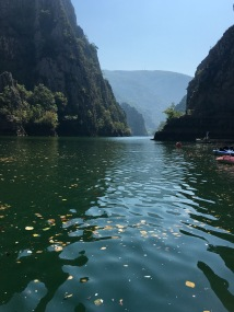 Matka Canyon boat cruise - Real Food Adventure Macedonia and Montenegro