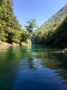 Matka Canyon boat cruise - Real Food Adventure Macedonia and Montenegro