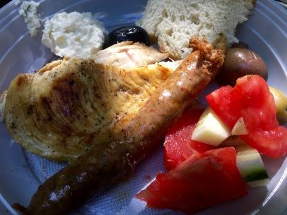 Picnic lunch at Matka Canyon - Real Food Adventure Macedonia and Montenegro