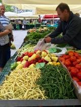 Ljubljana market visit - Real Food Adventure Slovenia and Croatia