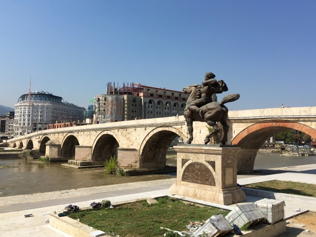 Stone Bridge, Skopje - Real Food Adventure Macedonia and Montenegro