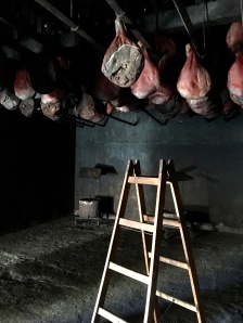 Smoke dried hams at Njegusi - Real Food Adventure Macedonia and Montenegro